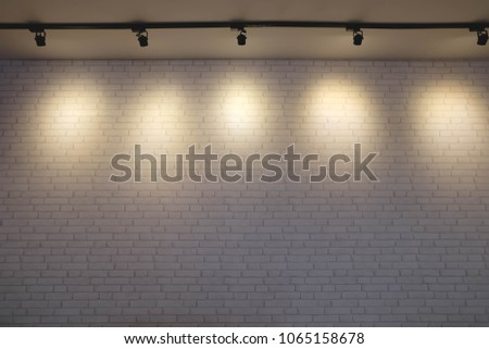 Backdrop with spotlights #1065158678