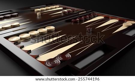 Backgammon Table Game Board