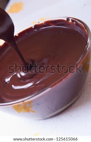 Backgraund of chocolate