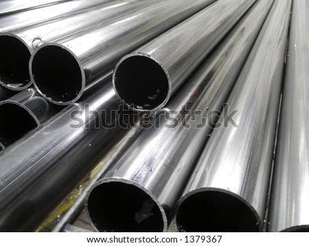 Background - Aluminum tubes