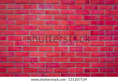 Background and texture of a brick wall