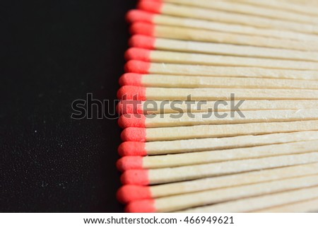 Background arranged match sticks #466949621