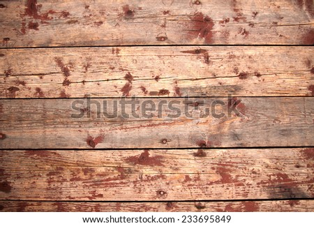 background boards with traces of old paint