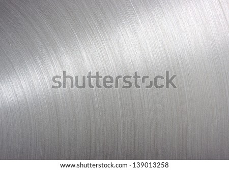 background brushed aluminum metallic plate