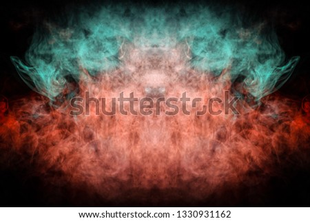Stock Photo Background consists of fractal multicolor texture and is suitable for use in projects on imagination, creativity and design. Fantasy print for clothes: t-shirts, sweatshirts.