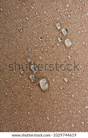 Background covered with water drops in  close-up view #1029744619