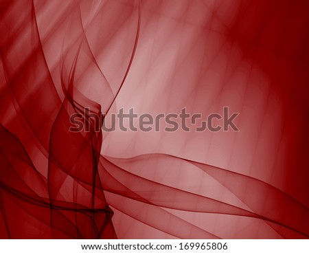 Background curtain red silky abstract modern pattern