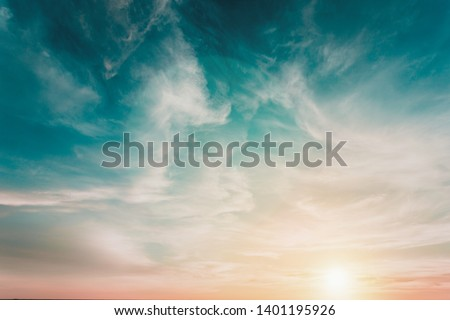 Background Fantasy Sky Beautiful in summer