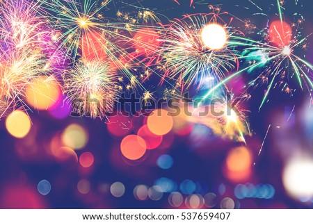 background festive new year...