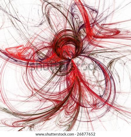 Background fractal illustration with high detail