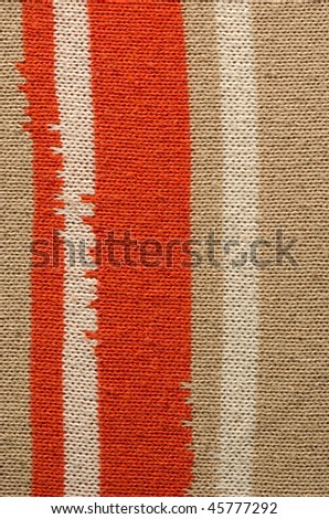 Background from a color woolen fabric #45777292