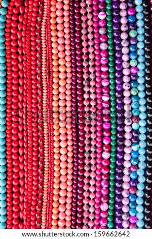 Background from beads.