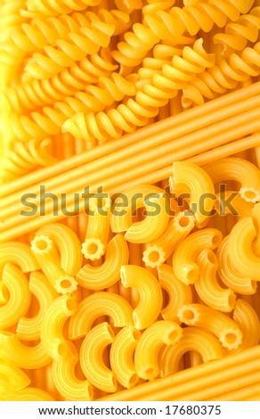 Background from macaroni