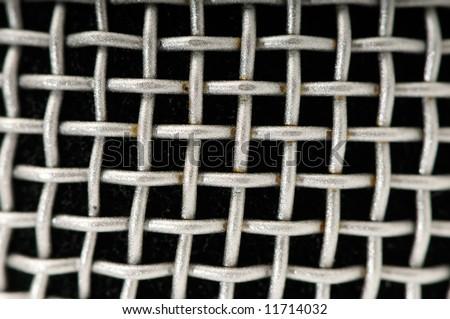 Background from metallic lattice