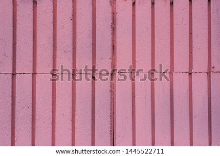Background from pink rectangles. brickwork. copy space #1445522711