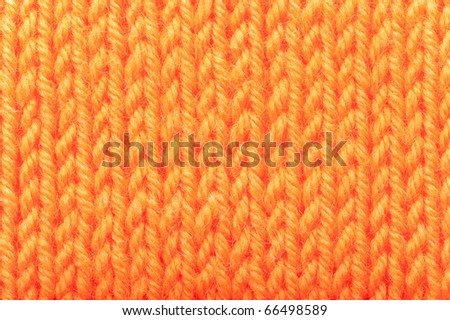 Background from the connected woolen cloth