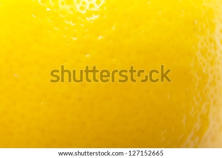background from the lemon skin. macro