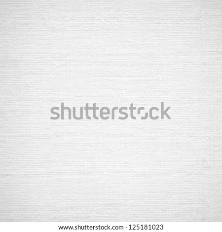 Background from white coarse canvas texture. Clean background. No dust. Image with copy space and light place for your design project. High res. #125181023