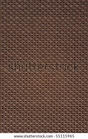 Background from wicker garden furniture