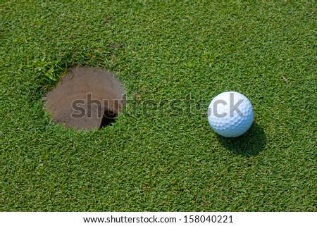 background golf sport, nice shot