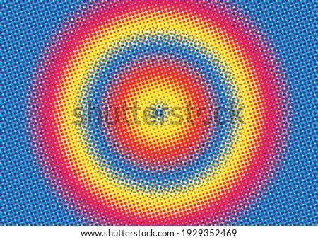 background gradien with color halftone Stock fotó ©