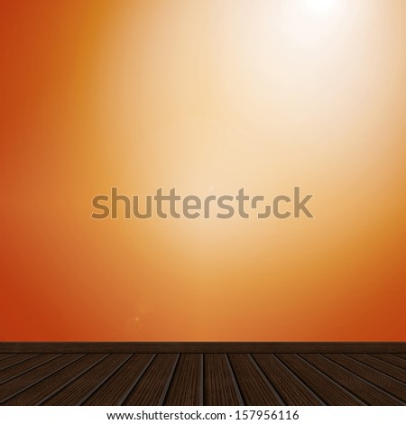 Background - Gradient and Wood