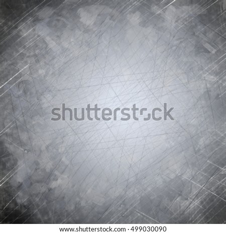 background gray metal old scratch #499030090