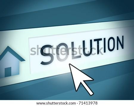 background illustration of an internet search bar - stock photo
