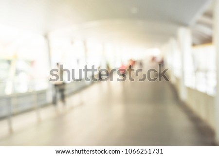 Background image blurred inside the mall for the background. #1066251731