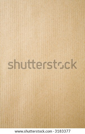 background image filling the frame with strong brown wrapping paper - stock photo