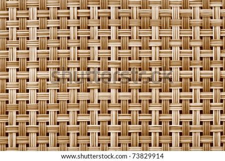 Background image of bamboo mat close up pattern