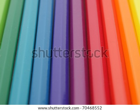 Background image of colorful crayons