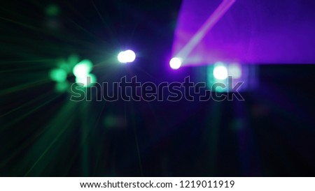 background image of lights in night club.photo with copy space #1219011919