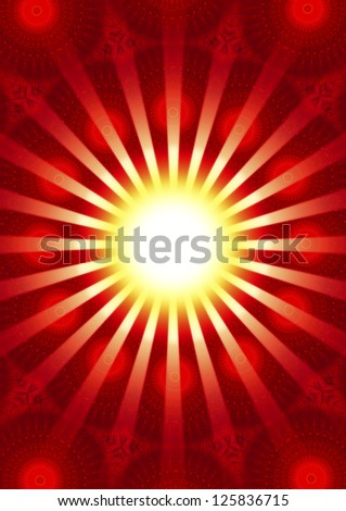 Background image / Ray of hope / meditation and enlightenment, trust and confidence
