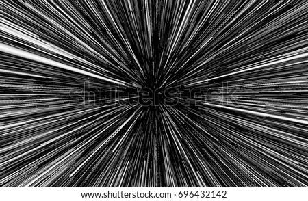 Background imitating the speed of light