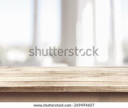 Background, kitchen, bench.