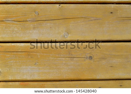 background made of boards covered with brown paint