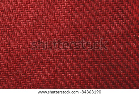Background made of red braid