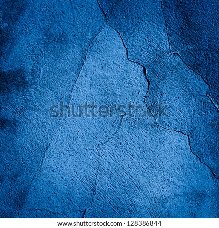 Background made with a texture of a blue bright wall