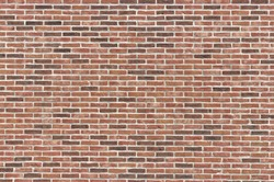 Background material of brick wall.