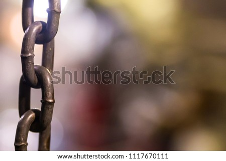 background metal chain with symmetrical rings vertical lines design decoration website grunge style #1117670111
