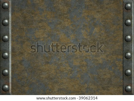 Plate Background Background Metal Plates With