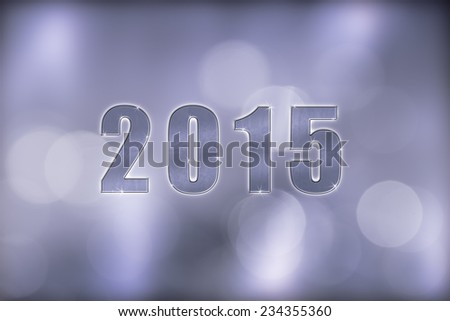 background new year`s eve dream in silver