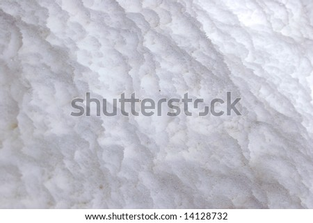 background of a dirty snow