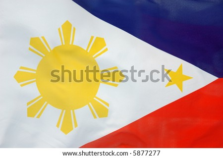 philippine flag wallpaper. a flowing Philippine flag