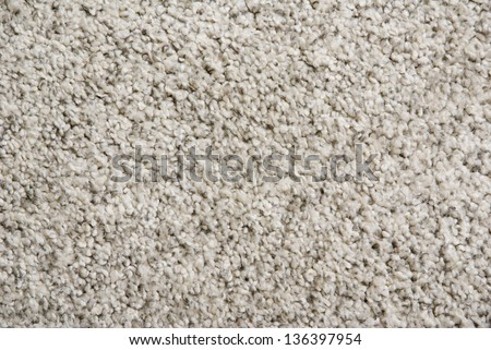 background of a fluffy beige interior carpet