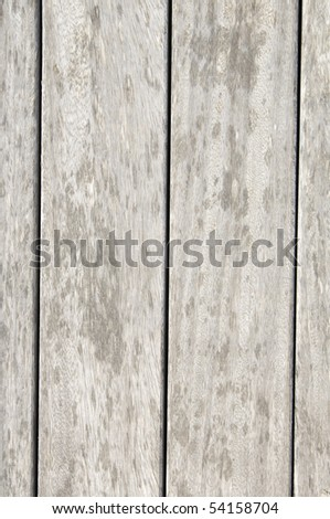 background of a front view of a group of aligned wood panels - stock photo
