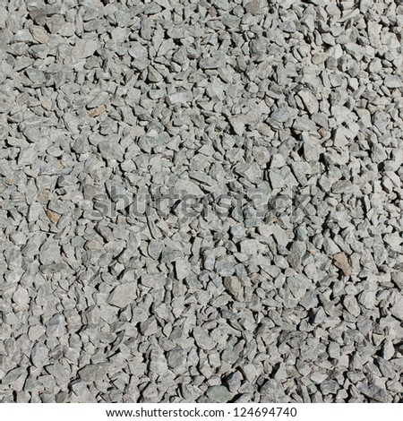 Background of a gravel stone used in construction