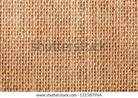 background of an old flax tissue