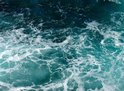 Background of aqua sea water surface